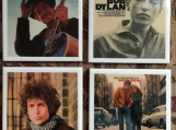 Bob Dylan Tile Drink Coasters 4 Piece Set