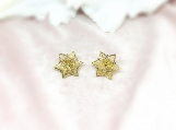 Bridal Jewelry, Bridal Earring, Wedding Jewelry, Star Earring