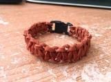 "Cobra Weave Suede Leather Bracelet, 6"" to 12"", Five Colors"