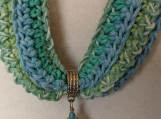 Cotton Scarf Necklace
