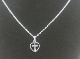 Dainty Sterling Silver Cross Necklace