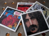 Frank Zappa  Tile Drink Coasters 4 Piece Set