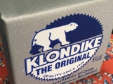 Klondike Pop Art Silk Screened on Canvas Sculpture