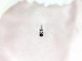 Sapphire Sterling Silver Pendant