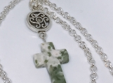 Tree Agate Cross