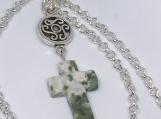 Tree Agate Cross