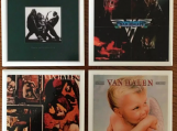Van Halen Tile Drink Coasters 4 Piece Set