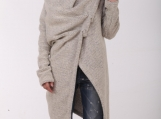 Angora Coat / Paradox / New Collection / Beige Mohair Cardigan /