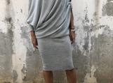 Asymmetric Tunic Dress / Paradox / Casual Dress / Party Dress /