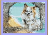Chihuahua Cross Stitch Pattern