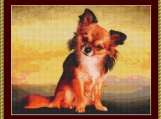 Chihuahua II Cross Stitch Pattern