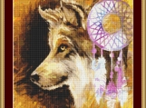 Dreamcatcher Cross Stitch Pattern