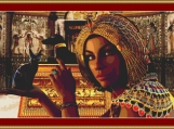 Egyptian Queen Cross Stitch Pattern