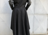Extravagant Coat / Paradox / Black Coat / Winter Outerwear / Wom