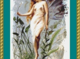 Fairy With A Lily Cross Stitch Pattern