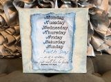 Faith Day Wall Hanging 6x6