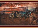 Fantasy Ride Cross Stitch Pattern