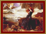 Miranda - The Tempest Cross Stitch Pattern
