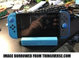 Nintendo Switch Charging & Display Stand With Customizeable Text