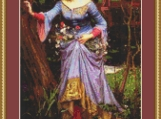 Ophelia Cross Stitch Pattern