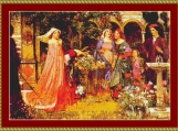 The Enchanted Garden Cross Stitch Pattern