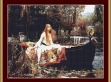 The Lady Of Shalott Cross Stitch Pattern