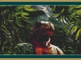 Tyrannosaurus Rex Cross Stitch Pattern