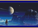 Voyager Moon Cross Stitch Pattern