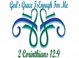 11 x 14 Printable, God's Grace Is Enough For Me