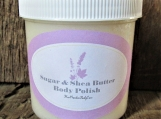 All Natural Sugar and Shea Butter Body Polish