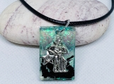 Aquarius Pendant, Astrology Necklace, Astrology pendant, Horoscope necklace, Zodiac necklace, January Zodiac, Zodiac sign necklace