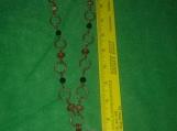 Arkansas Quartz and Copper Necklace
