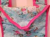 Asian Inspired Messenger Bag