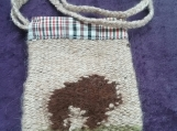 Bison Tapestry Bag
