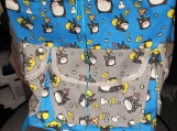 Blue and Grey Totoro Backpacks