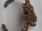 Copper Knot Cuff Bracelet