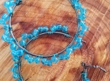 Turquoise colored beads