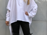 Fashion White Shirt / Paradox / Cotton Shirt / Casual Shirt / As
