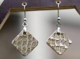 Fish leather earrings, Leather jewelry, Salmon skin