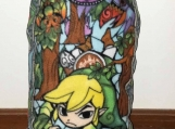 Legend of Zelda Stained Glass Pillow