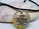 Libra necklace,Libra zodiac jewelry,Libra gift jewelry,Horoscope necklace,Libra gift for her,Zodiac constellation,Zodiac sign necklace