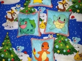 Pokemon Plush Christmas Ornaments