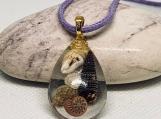 Seashell necklace,boho beach jewelry,ocean jewelry,beach necklace,beach style,seashell jewelry,ocean blue necklace,beach jewelry