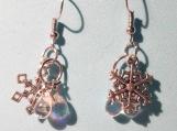 Snowflake Waterdrop Earrings