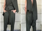 Stylish Suit / Paradox / Harem Pants / Loose Pants / Long Trouse