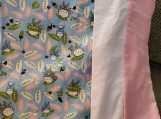 Totoro French Seam Pillowcase