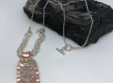Tree of Life Necklace Sterling silver and Copper