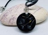 Wish Necklace, Dandelion Necklace,Dandelion Jewelry,Make a Wish Necklace,Real Flower Jewelry,,Pressed flower,military gift