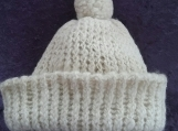 Wool Hand Knit Hat