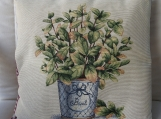 Basil Tapestry Cushion Cover - Free shipping